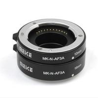 Hot Sale Meike MK N AF3A Metal Mount Automatic AF Auto Focus Macro Extension Tube Ring