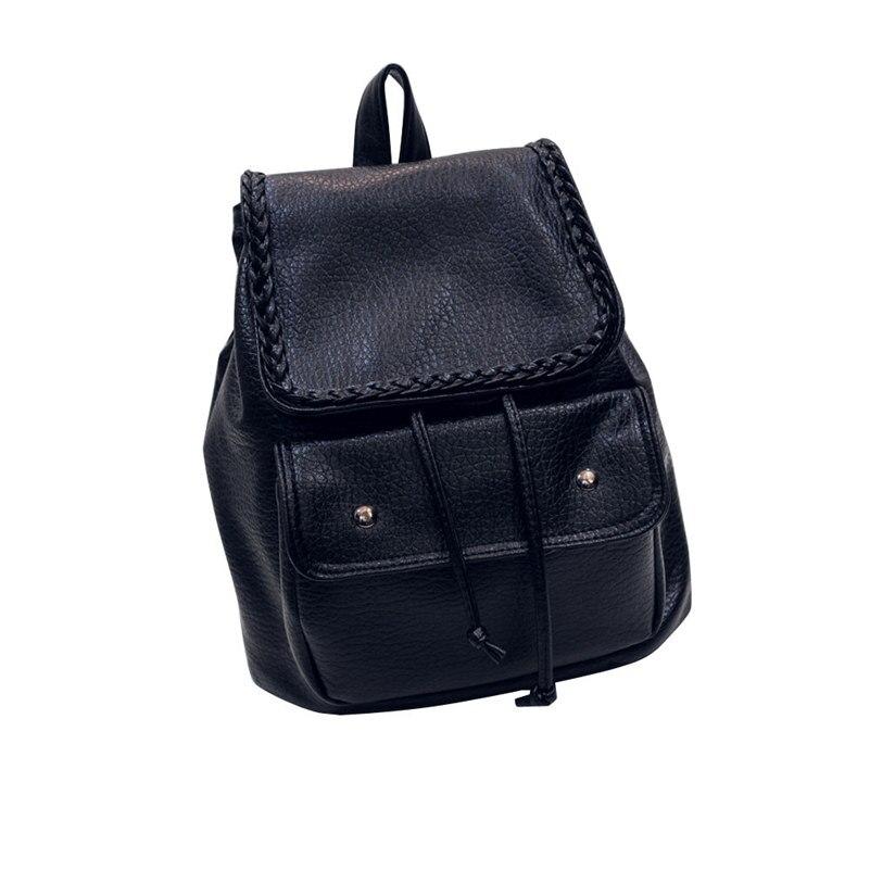 Leather Korean mochila Travel Bags Women Backpack Stars Universe Space School Book Laptop Backpacks for Teenage