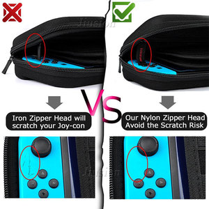 Image 3 - อัพเกรด EVA Hard Shell สำหรับ Nintend Switch ขนาดใหญ่กระเป๋าถือแบบพกพาสำหรับ Nintendo สวิทช์คอนโซล NS อุปกรณ์เสริม