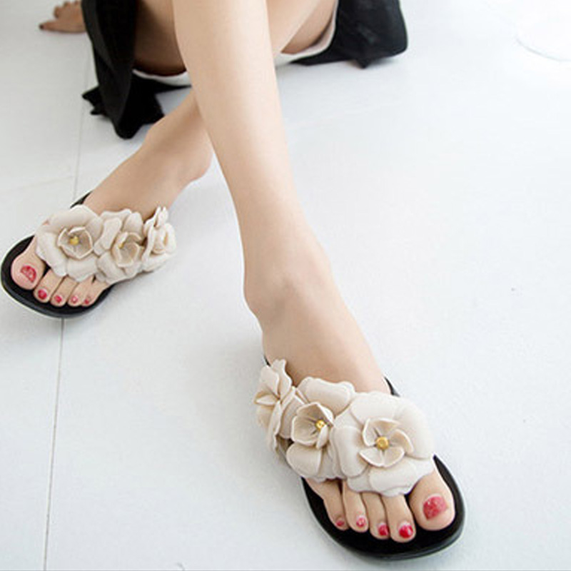 Aliexpresscom  Buy Colorful Flowers Womens Sandals Summer Shoes Slippers For Women -1193