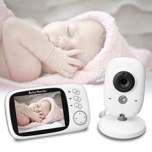 """Беспроводной видео Видеоняни и радионяни 3,"""" ЖК-дисплей Экран Wi-Fi Ночное видение Температура обнаружения, 2-способ говорить спящего ребенка безопасности Камера"""