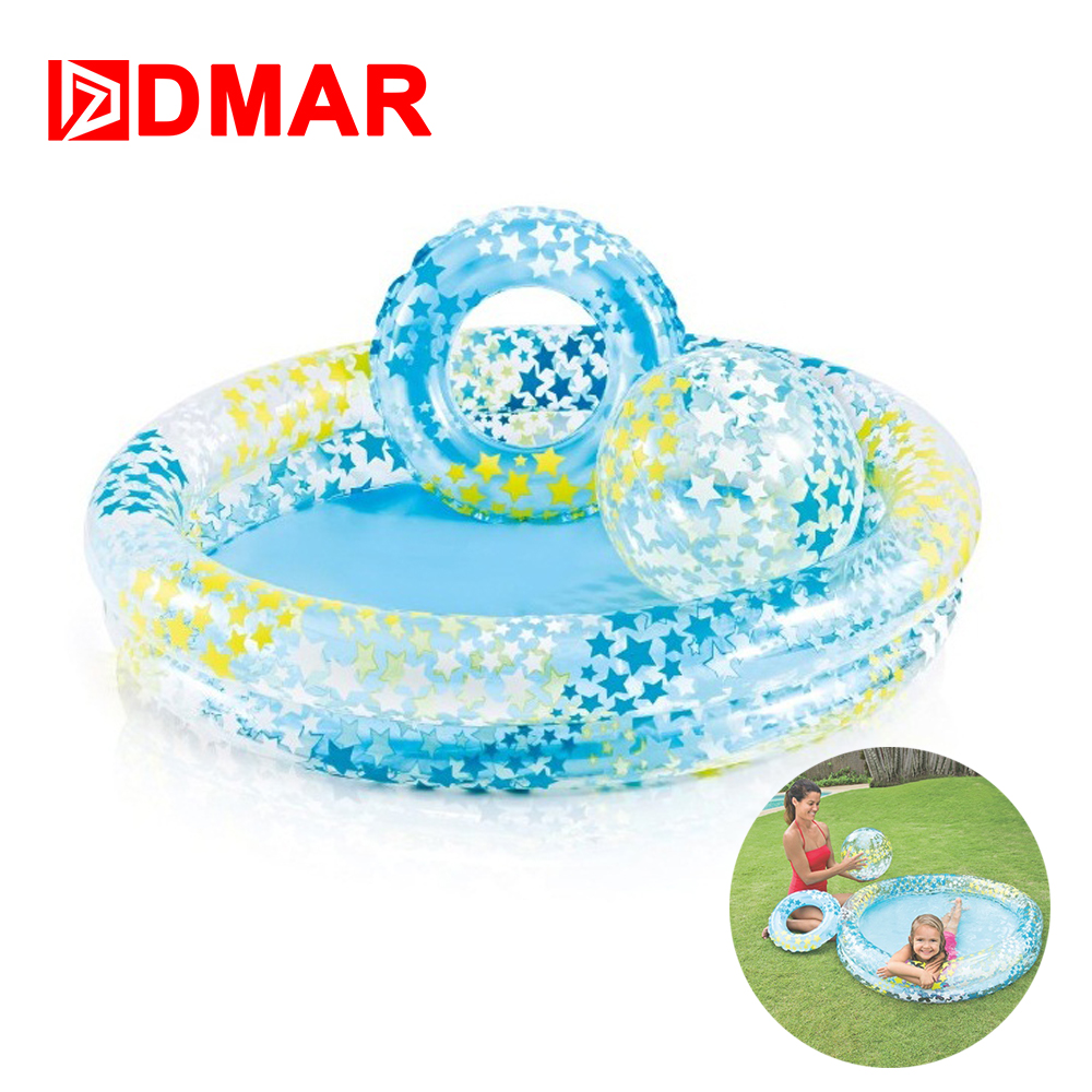 DMAR Inflatable Pool for Kids Baby Pool Float Swimming Ring Circle Ball Swimming Pool Bathing Toys Inflatable Mattress Water