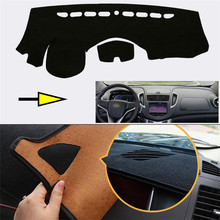 Brand New Interior Dashboard Carpet Photophobism Protective Pad Mat For Chevrolet TRAX 2014 brand new interior dashboard carpet photophobism protective pad mat for lexus es350 240 2011