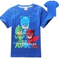 2016 children t shirts boys tshirt girls tops and blouses baby shirt kids t-shirt clothes infants masks cartoon party costume