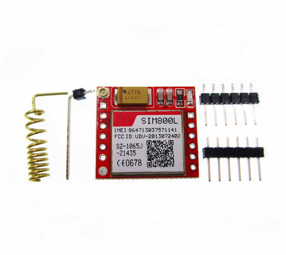 HAILANGNIAO 10PCS SIM800L GPRS GSM Module MicroSIM Card Core BOard Quad band TTL Serial Port