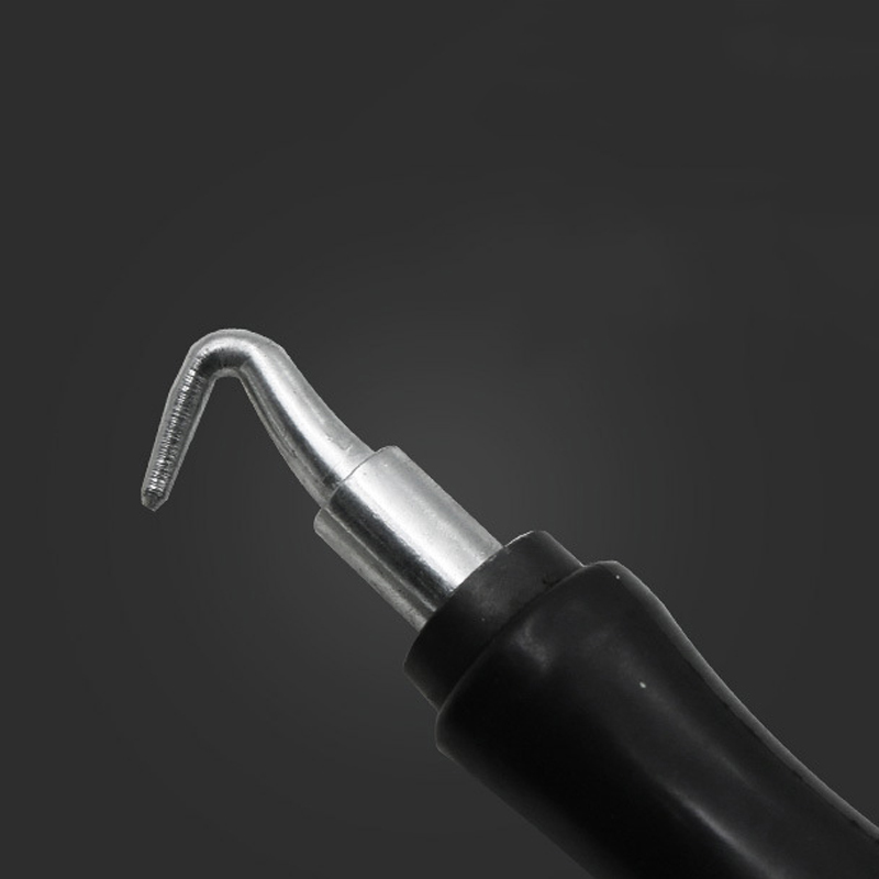 Mayitr 1pc Semi-Automatic Rebar Hook Steel Bar Binding Hook Wire Tying Tools Twister Straight Pull Rebar Hook 306mm