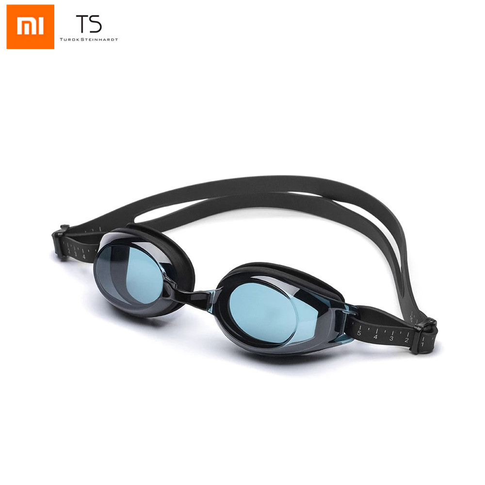 Xiaomi TS Adult Swimming Glasses Anti-fog HD Waterproof Replaceable Nose Frame Widder Angle Glasses For Man Woman