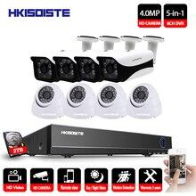 HD cctv Camera System 8CH AHD CCTV 4MP DVR CCTV System 4.0MP Camera Indoor Outdoor Waterproof 8CH 5MP NVR Surveillance Kit