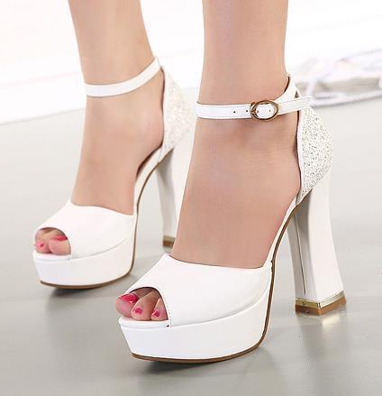 Images of Platform Wedding Shoes - Weddings Pro