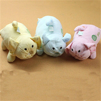 Pig Cartoon Baby Bottle Holder Bag Soft Baby Animal Holder Bottle Food Warmer Insulator Bag Cooler