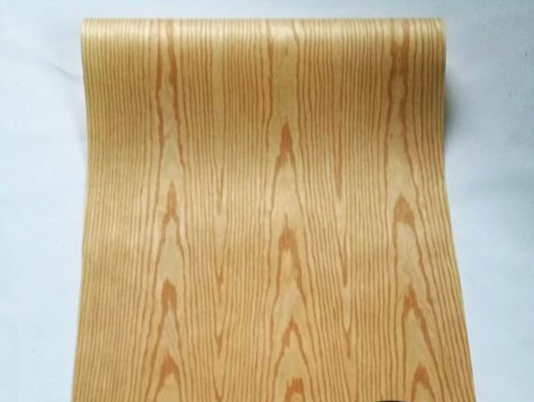 2Pieces/Lot L:2.5Meters Width:60CM  Thickness:0.2mm Home Decor Furniture Technology Ash Wood Veneer