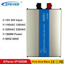 EPever 1500W IPower Pure Sinus Omvormer 12VDC 24VDC Input 110VAC 120VAC 220VAC 230VAC Output 50HZ 60HZ off Grid Inverter