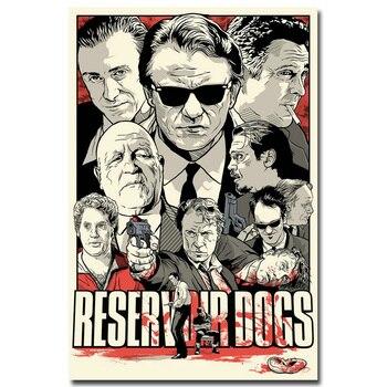 Плакат гобелен шелковый фильмы Квентина Тарантино в ассортименте