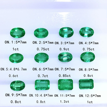 Naturally unoptimized Colombian emerald, diamond face, VS level, can be customized to become a jewelry shipment