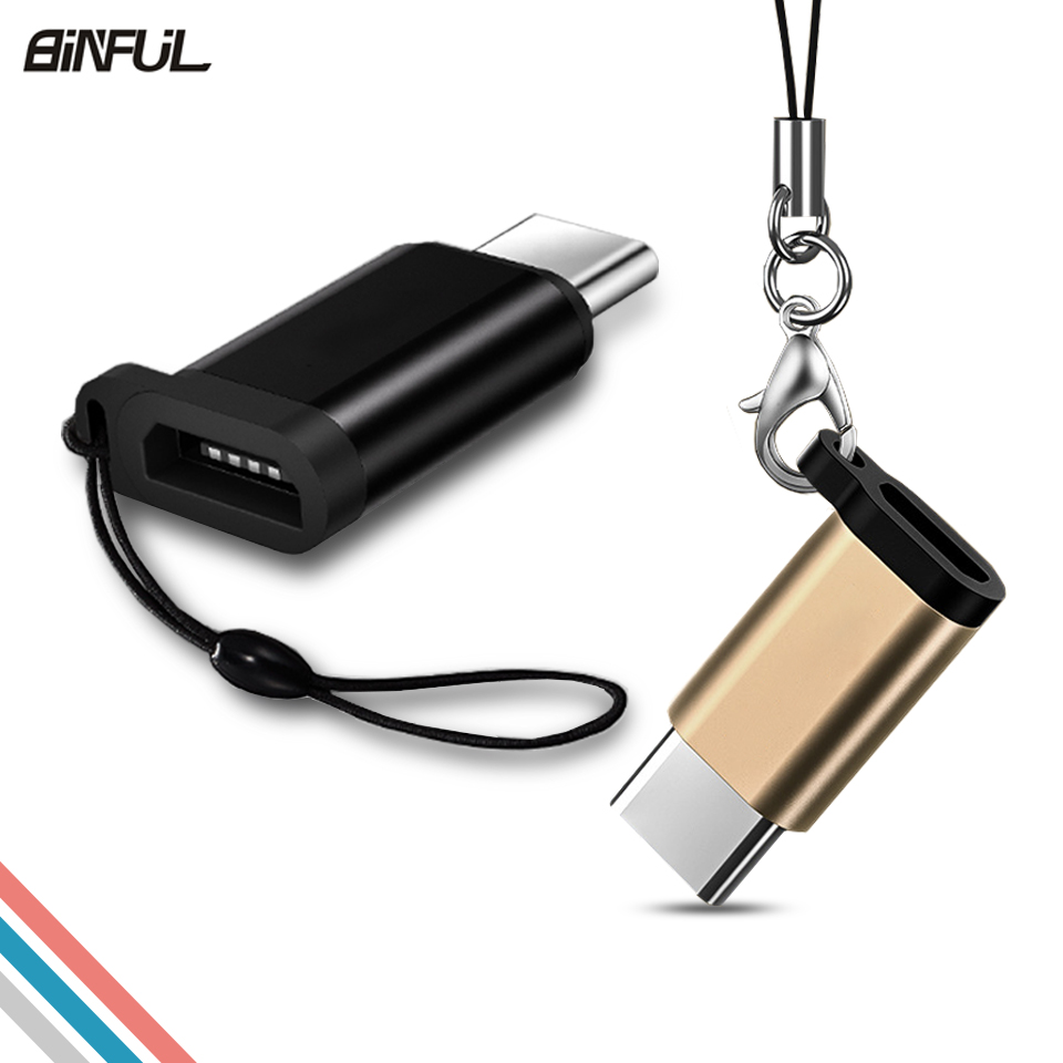 Cellphones & Telecommunications Usb Type C Adapter For Samsung Galaxy A3/a5/a7 2017 S8/s9/plus Note 8 Micro Usb Female To Type C Male Converter Adapter Cable Meticulous Dyeing Processes