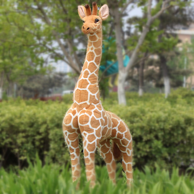 simulation animal large 120cm giraffe plush toy home decoration birthday gift b4887 simulation animal large 30x25 cm lovely cat model lifelike white cat with long tail decoration gift t474
