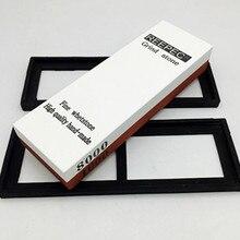 Nuoten marca 1000/8000 waterstone profesional cuchillo afilado cuchillo de piedra de afilar de diamante piedra de afilar piedra de aceite grinder