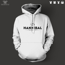 Hannibal eat the rude orignal design men unisex pullover hoodie heavy hooded sweatshirt organic cotton fleece Free Shipping
