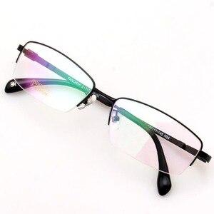 Image 4 - RUI HAO EYEWEAR Eyeglasses Frame Titanium Alloy Glasses Frame Men High elasticity Eyeglasses Frame Memory Spectacle 33018