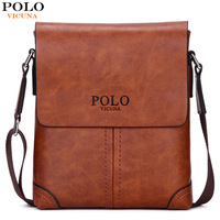 New Arrival 2017 POLO Fashion Men Bags Men Casual Leather Messenger Bag High Quality Man Brand