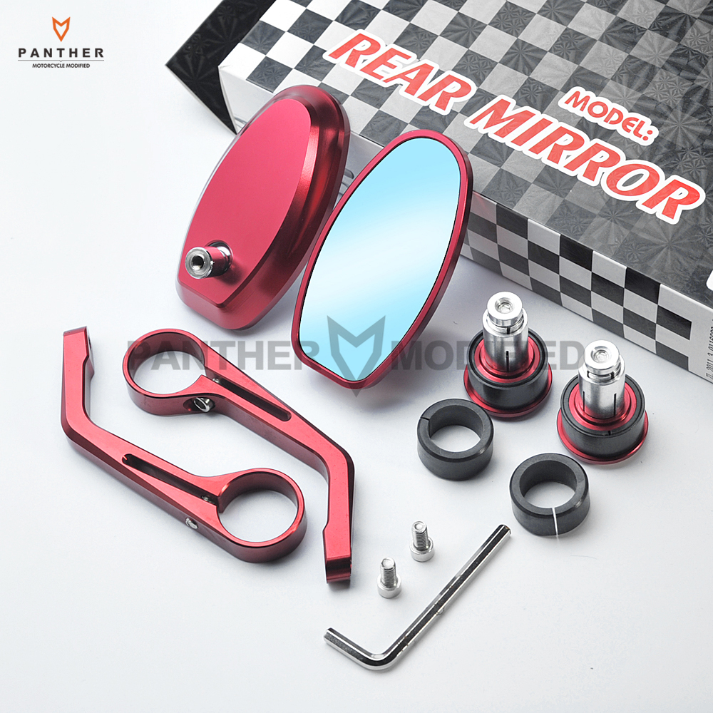 Motorcycle Accessories & Parts Selfless Motorcycle Cnc Aluminum 7/8 bar End Rearview Mirror Case For Yamaha Kawasaki Suzuki Honda Ktm Ducati And Other Models Clearance Price
