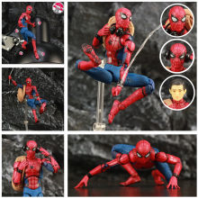 "Marvel Homem Aranha Tom Holland 6 ""Ver Lendas Spiderman Action Figure do Regresso A Casa Longe de Casa KO Mafex 047 medicom Toys Boneca(China)"
