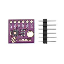 HDC2080 humidity and temperature sensor connected to a ESP32