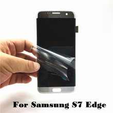 Original LCD Display for Samsung Galaxy S7 Edge G935 G935F G935A G935FD G935P Phone LCD Touch Screen Digitizer Assembly Replace