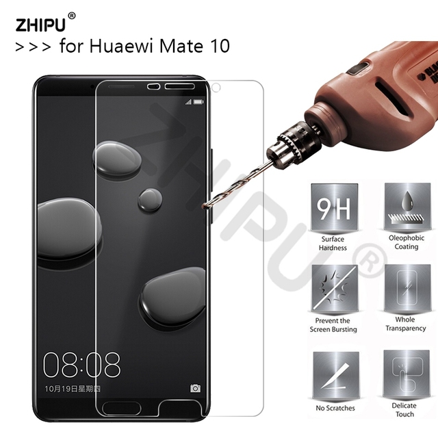 2.5D 0.26mm 9H Premium Tempered Glass For Huawei Mate 10 5.9 inch...