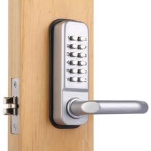 Mechaniczne przycisk blokady zamek centralny zamek hasło zamki drzwi Wejściowe Sypialnia zamki Keyless Cyfrowy Kod Klawiatura zamek L68