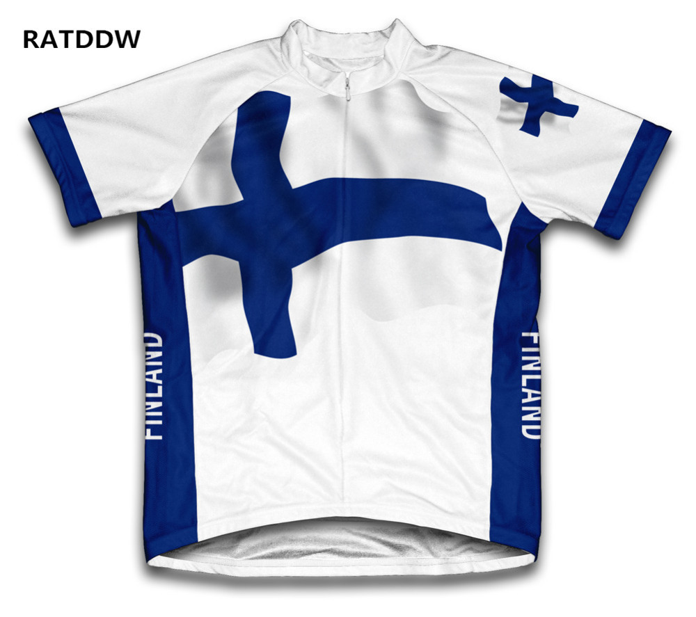 Finland Cycling Jerseys Ropa Ciclismo/Breathable Bicycle Clothing/Quick-Dry For Men Bike Bicycle Clothing