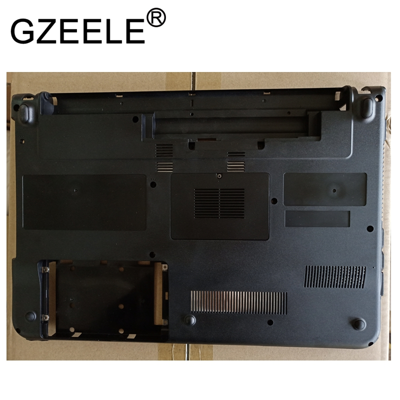 GZEELE NEW FOR Sony Vaio VPC-EA VPCEA Bottom Base Cover lower case 012-004A-2977-A BLACK new cpu cooling cooler fan for sony vaio ea ea2 ea3 ea4 ea16 ea18 ea25 ea38 ea45 ea46 ea47 ea48 eb vpc ea vpc eb vpceb vpcea