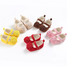 2017 New Infant Toddler Baby Girl Soft Sole Crib Shoes Sneaker Newborn Princess 0-18M