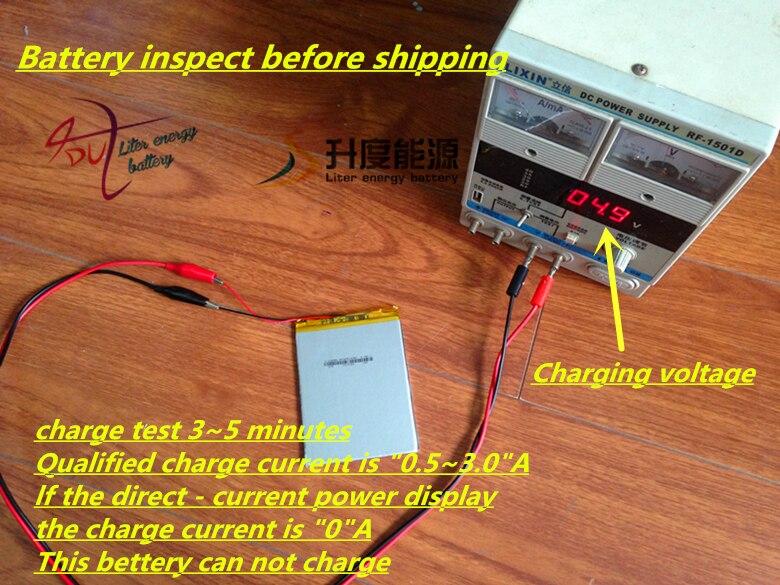 Digital Batteries 2000mah 505070 3.7v Lithium Polymer Battery Mobile Phone Toy Gps Teaching Machine