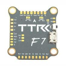 Contrôleur de vol TransTEC F7 F722 3 6S Betaflight OSD MPU6000 Uarts 5 V/3A BEC 30x30mm pour Drone de course FPV & RC quadrirotor