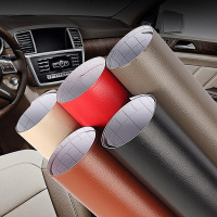 1.52m*30m Self adhesive pvc leather vinyl wrap for car door edge handle, for dashboard, for car interior decal styling