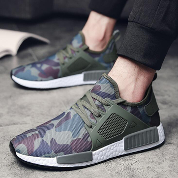 New 2019 men sneakers Camouflage high quality men casual shoes breathable men shoes big size 38 – 48