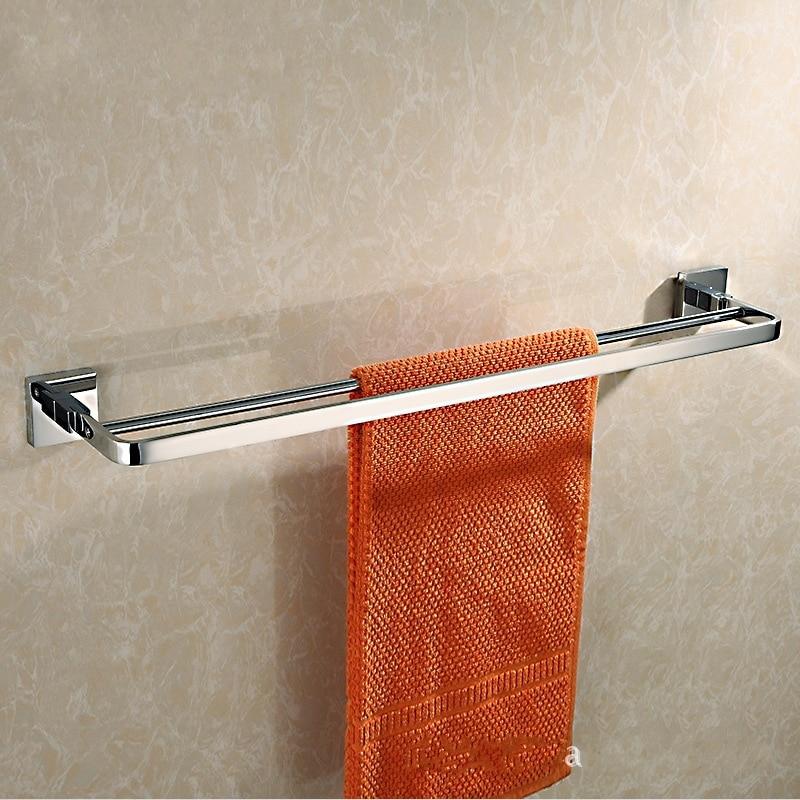 Hot selling chrome plating 60cm brass bath towel holder - Chrome plated brass bathroom accessories ...