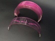10 Pcs U Type Plastic Standard Eyebrow Tattoo Stencils Permanent Makeup Eyebrow Ruler Used Beginner Pink