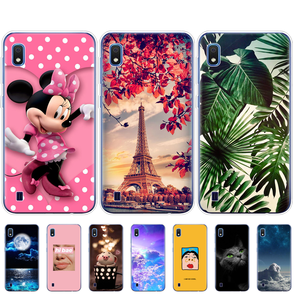Phone <font><b>Case</b></font> For <font><b>Samsung</b></font> <font><b>A10</b></font> <font><b>Case</b></font> Soft Silicone Back Cover For <font><b>Samsung</b></font> Galaxy <font><b>A10</b></font> GalaxyA10 A 10 SM-A105F A105 A105F coque bumper image