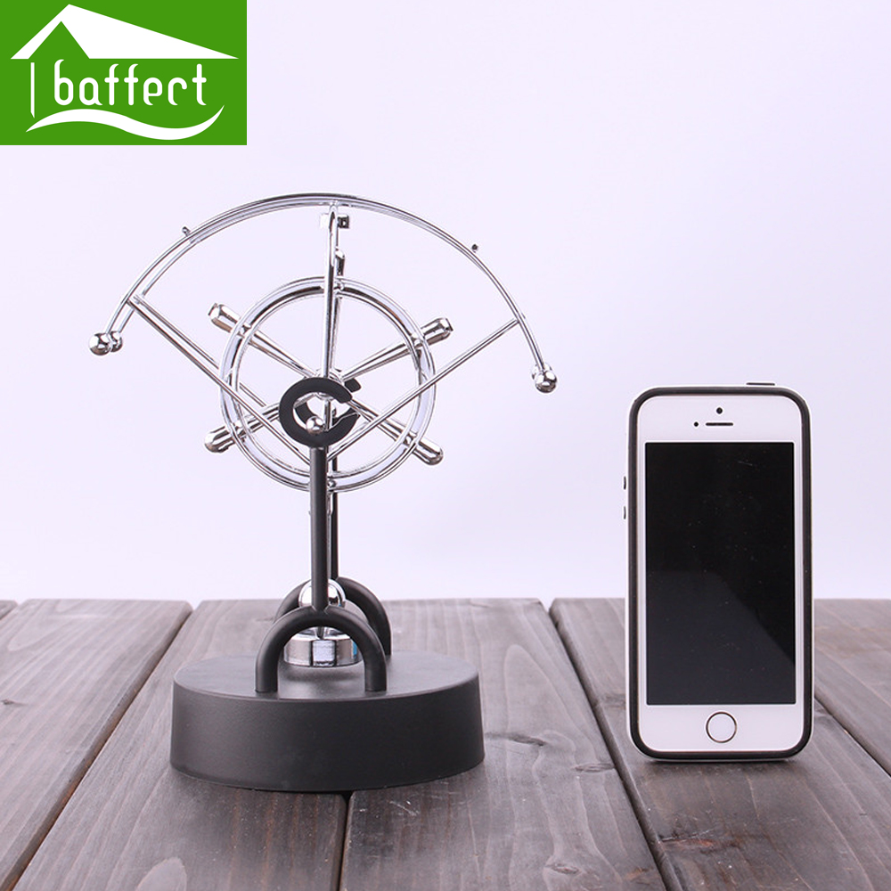 Creative Electric Perpetual Wiggler Ornament Newton Pendulum Ball Never Stop Home Office Accessories Christmas Decoration