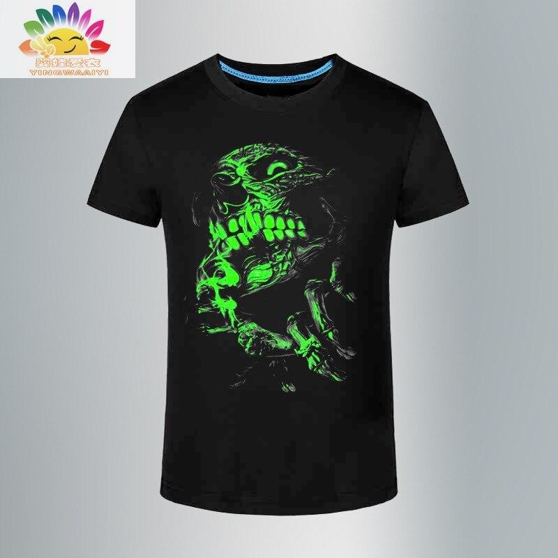 Yingwaaiyi Top Kids T Shirt Boys Stars Wolf Tiger
