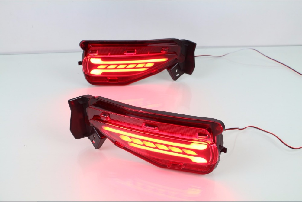 Osmrk Led Driving Light Brake Signal Turn Light Warning Light For Toyota Fortuner 2015 2016