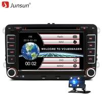 7 2 Din Car DVD GPS Radio Player For Volkswagen VW Golf 5 6 Touran Passat