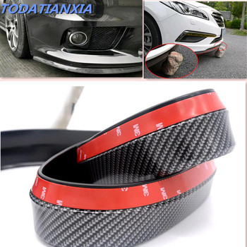 Car Protectors Front Bumper Lip Splitter for golf 7 bmw x5 e90 e60 e87 e30 peugeot 207 lexus is beetle audi b9 subaru forester image