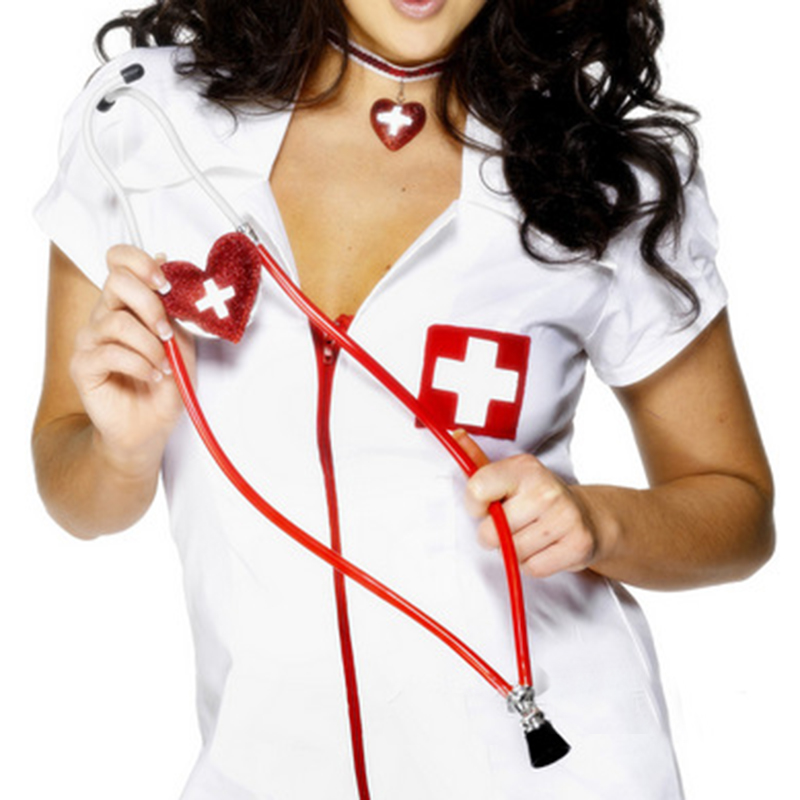 Stethoscope Halloween Party Cosplay Toy Nurse Hospital Doctor Equipment Tool Pretend Role Play Set Medica Night Stethoscope