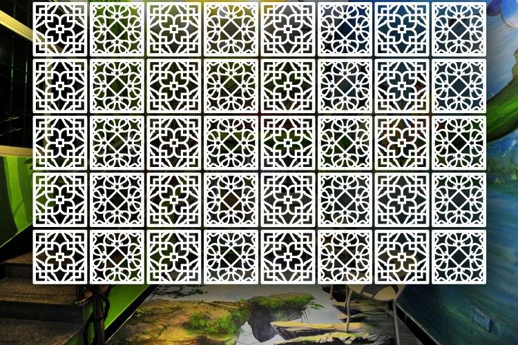 Protector de biombo de pantalla plegable de 5MM T para habitaciones marcos de ventana chinos cortina de partición Biombos separadores de habitación-in Biombos y separadores de habitación from Hogar y Mascotas    1