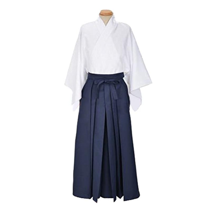 Japanese Kendo Laido Aikido Hapkido Hakama Keikogi Dobok Kendo Sets Martial Arts Uniforms Cosplay Custom-Made Clothing