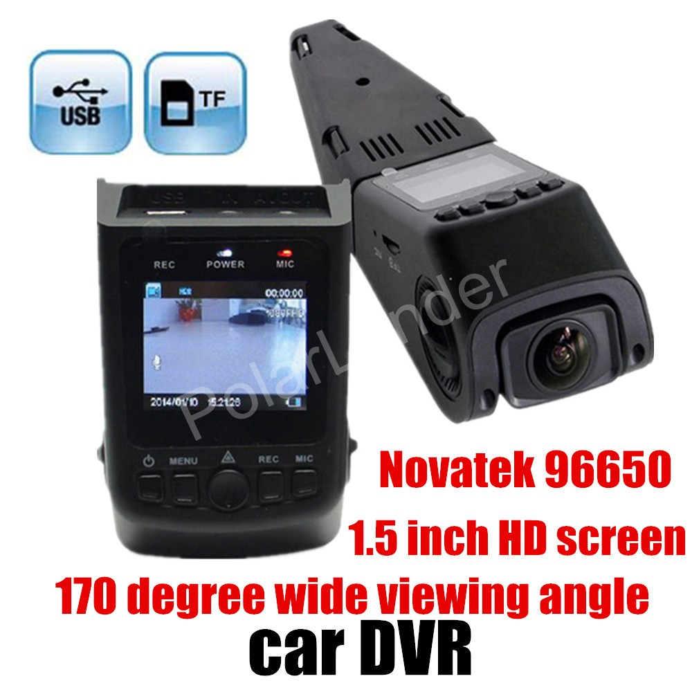 hot Mini HD 1080P Car Dvr Dash Cam 96650 A118 Car Camera Recorder 170 Degree wide viewing angle car accessory