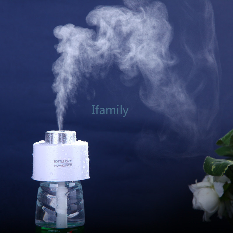 2016 Limited Diffuser Mini Portable Water Bottle Ultrasonic Humidifier Cap Mist Maker Desktop Small Cool Suitable for Homeoffice 400ml portable bpa free wide mouth cool water bottle